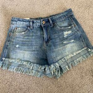 Vanilla Star Festival Jean Shorts